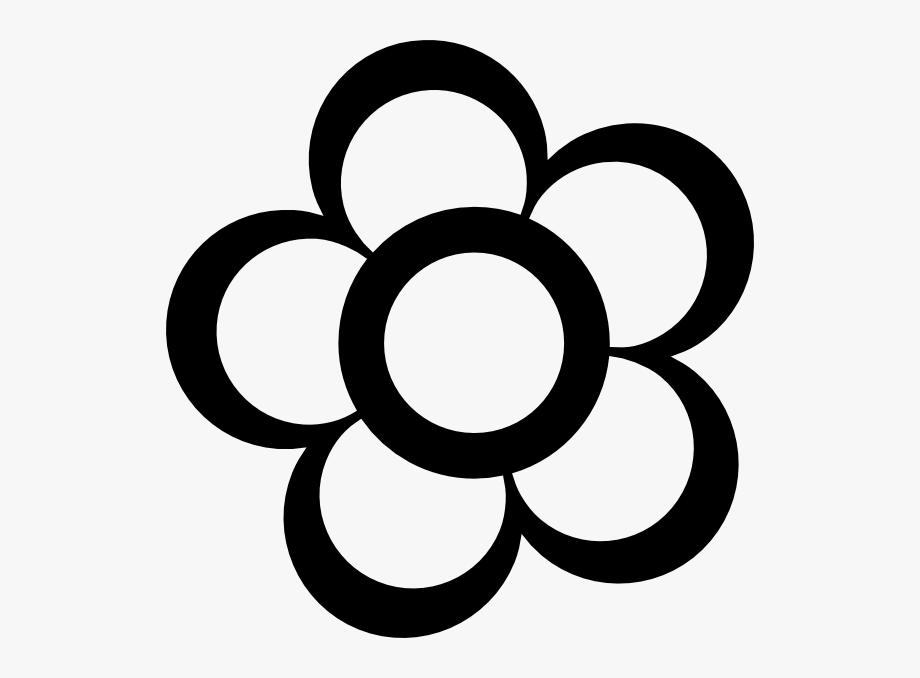 Pix For Clipart Flower Outline