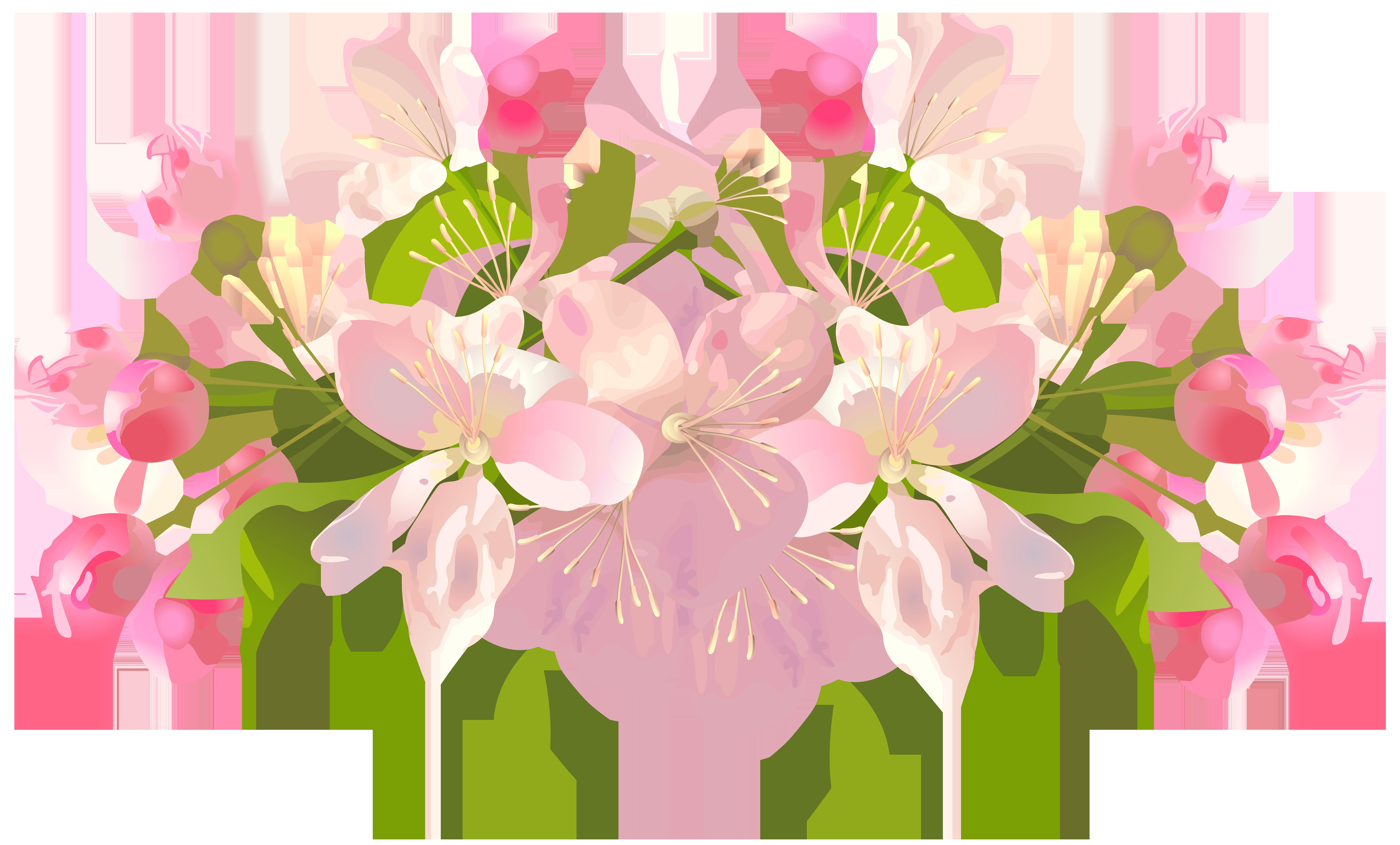 Flower spring clip.