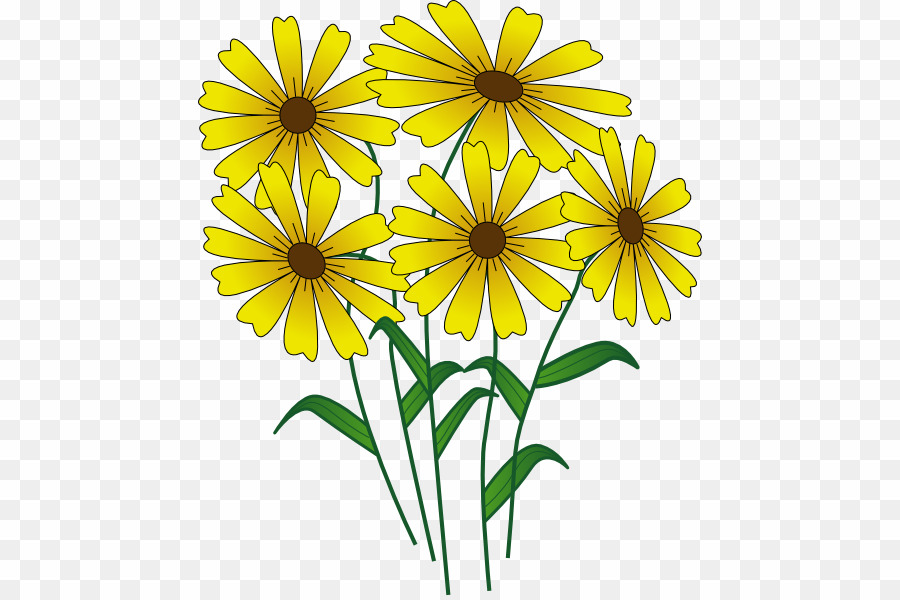 Spring flowers png.