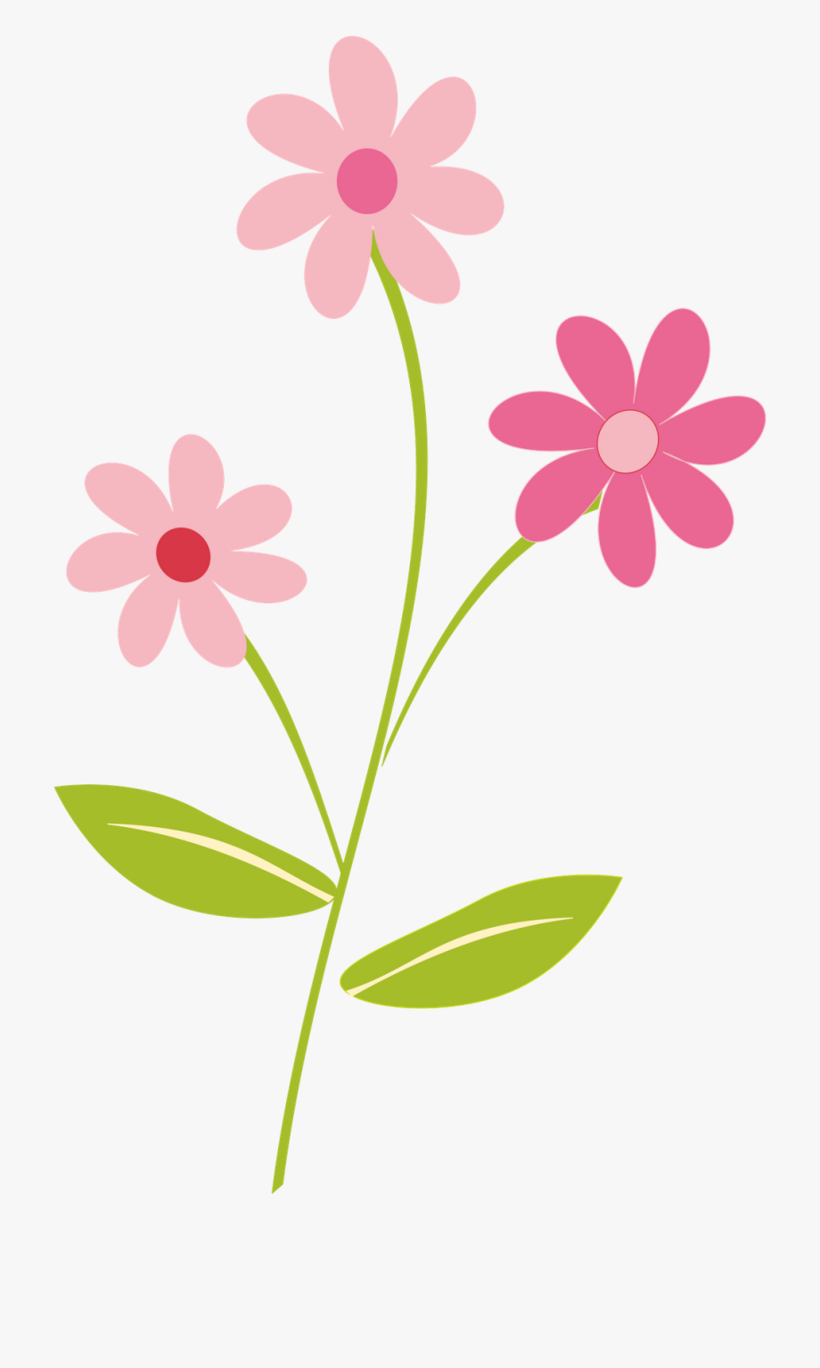 Clipart Of Pretty, Flower And Floral