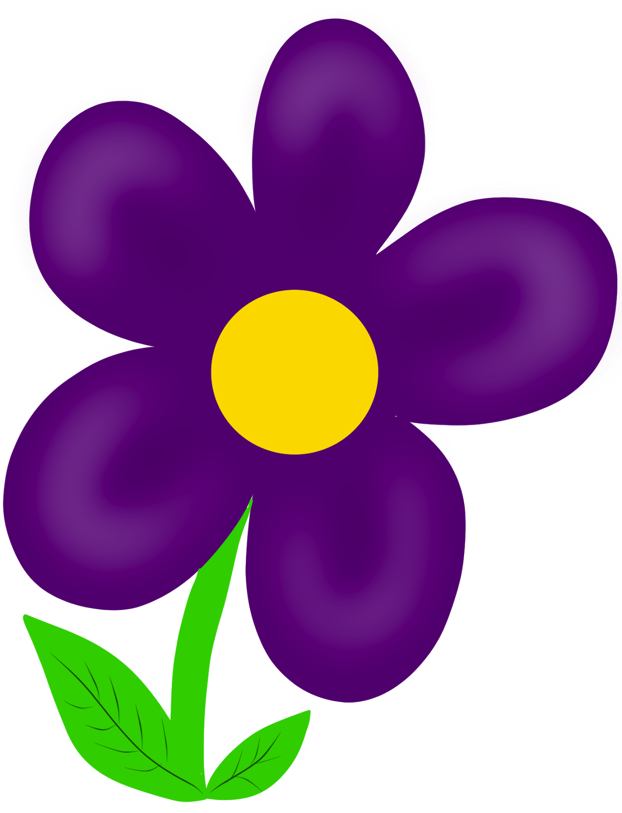 Free purple flower.