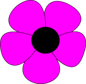 Free Simple Flower Cliparts, Download Free Clip Art, Free