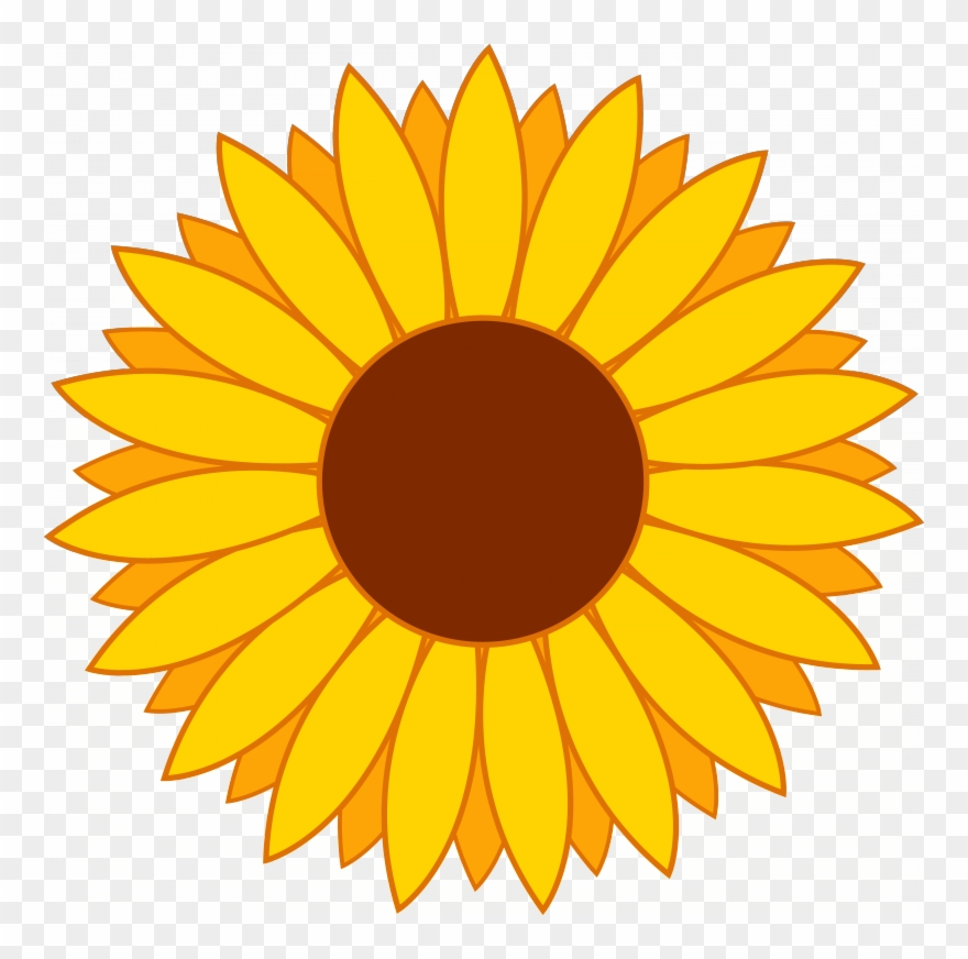 Free Yellow Flower Clipart