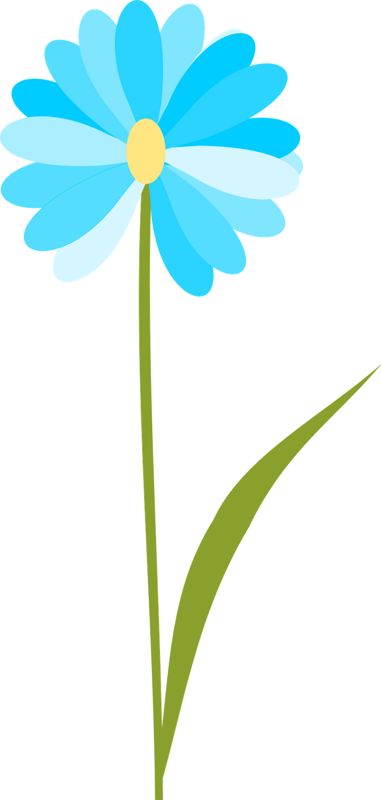 Free transparent flower.