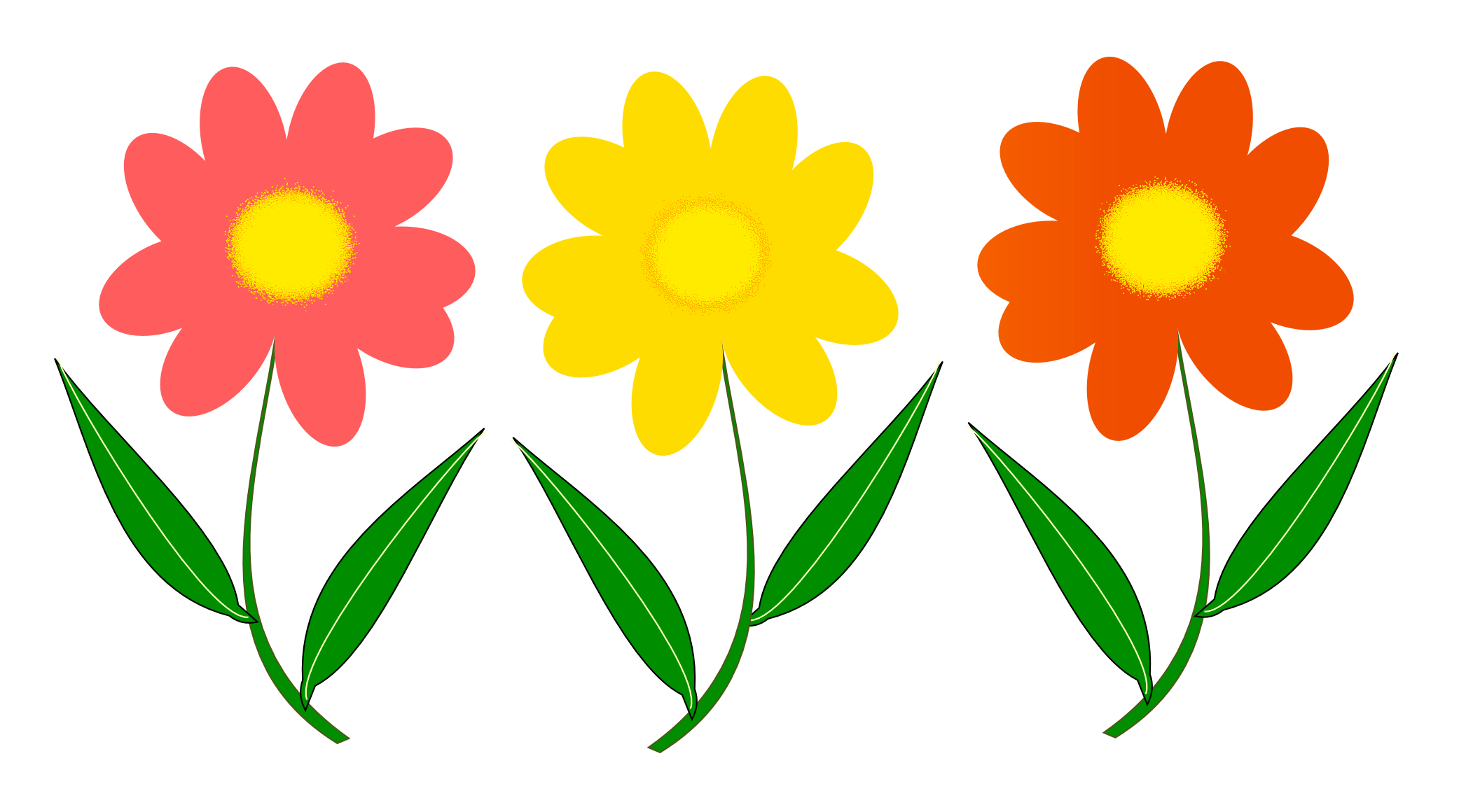 Flower vector png.