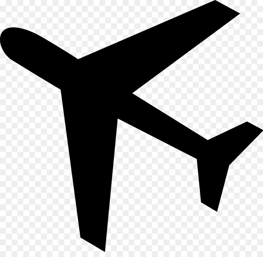 Flugzeug clipart. Travel symbol airplane line
