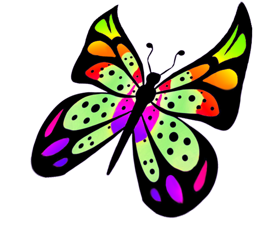 Fly clipart different color. Rotate resize tool