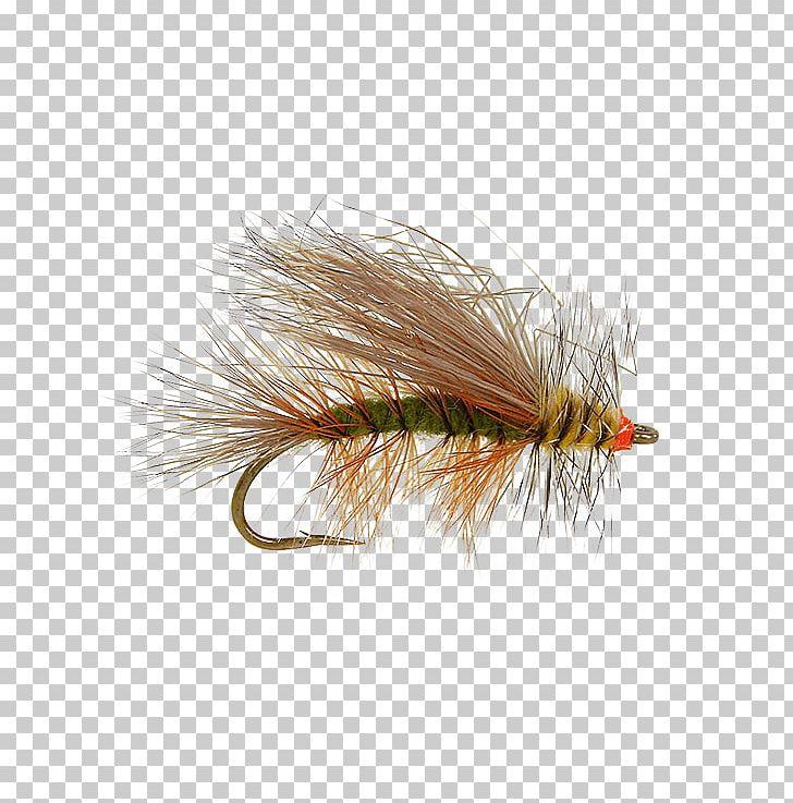 Artificial fly hackles.