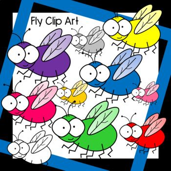 Fly clipart different color. Fly clipart different color. Colorful clip art free