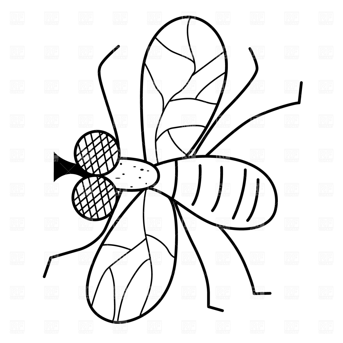 Fly clipart white. Black and station