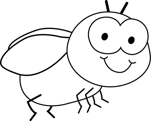 Fly clipart white. Black and clip art