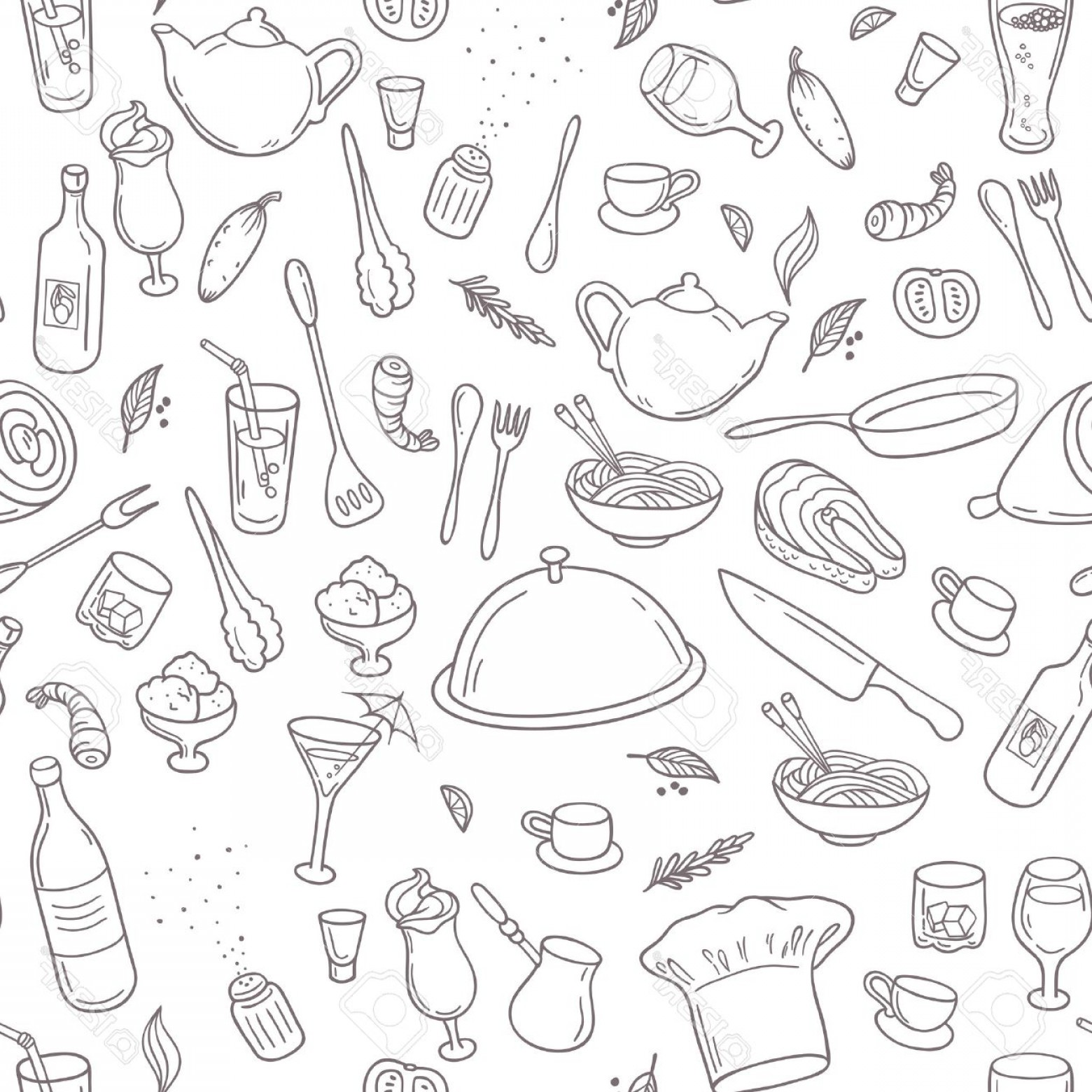 Photostock vector food.