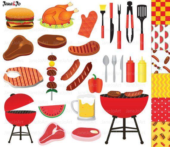 food clipart bbq