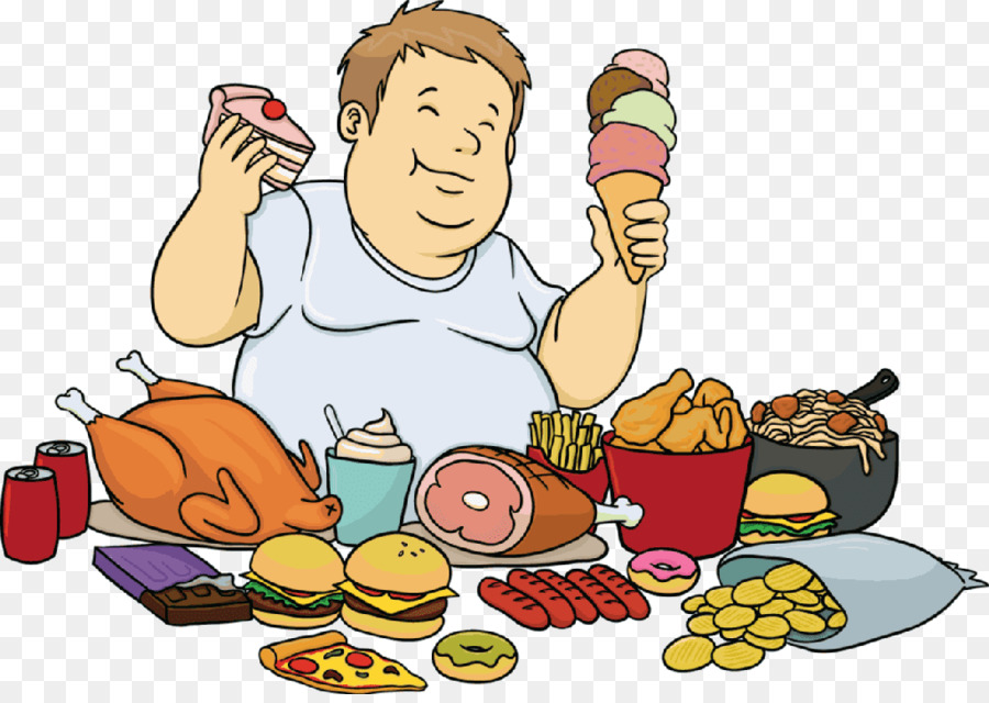 fast food clipart eating