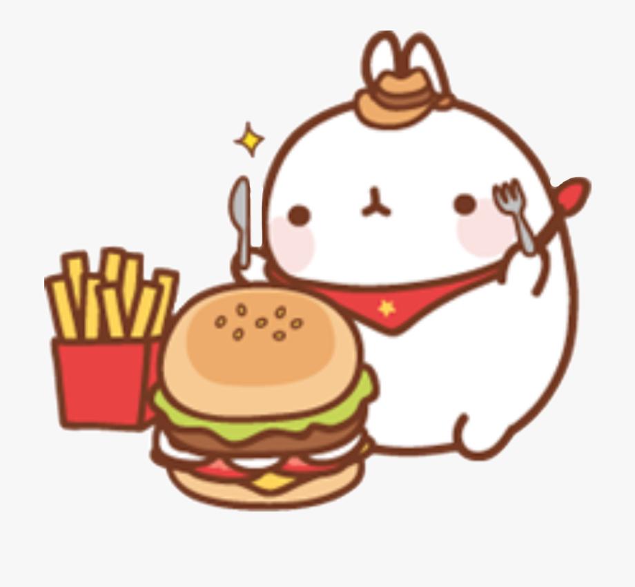 Food clipart free cute. Kawaii cliparts on