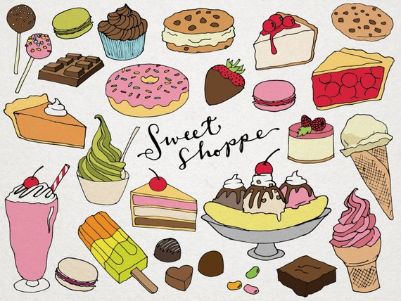 Desserts clipart sweet.