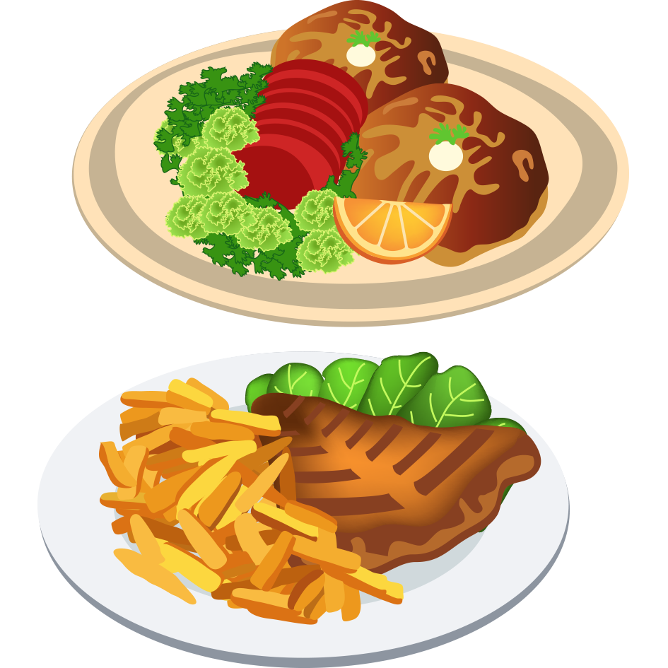 Food clipart dinner. Foods transparent free for