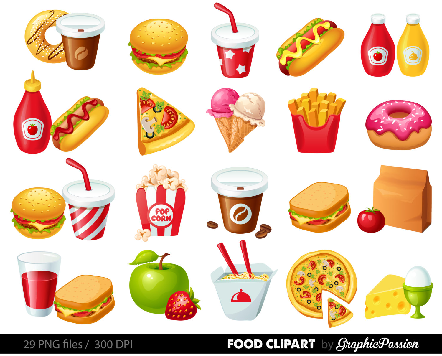 food clipart free snack