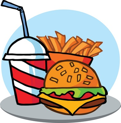 fast food clipart printable