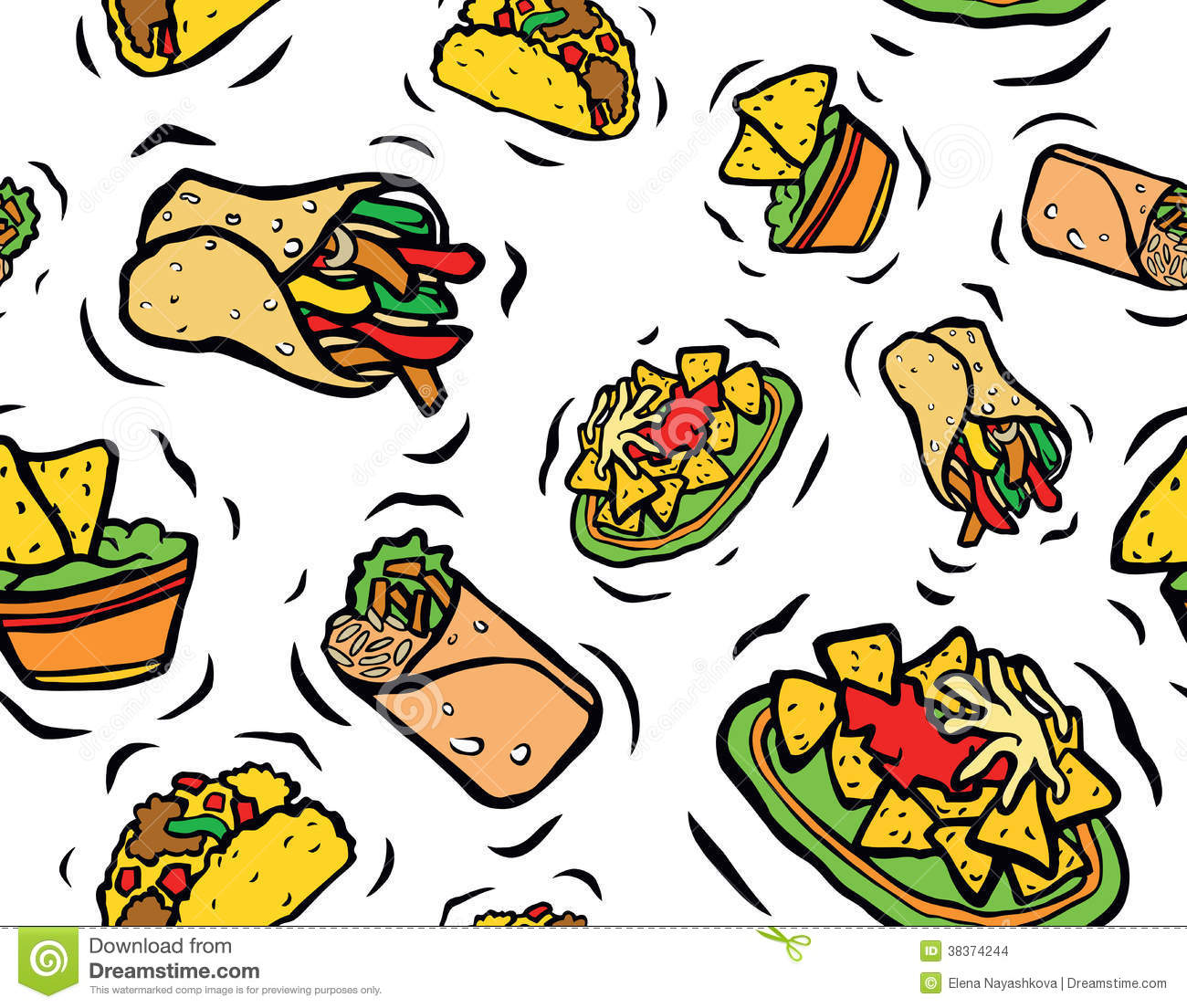 mexican food clipart -taco