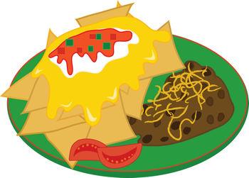 mexican food clipart -taco menu