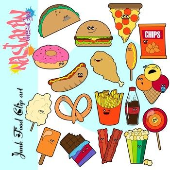Food clipart snack. Junk and resources for
