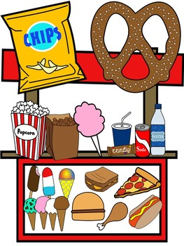 Food clipart snack. Clip art color and