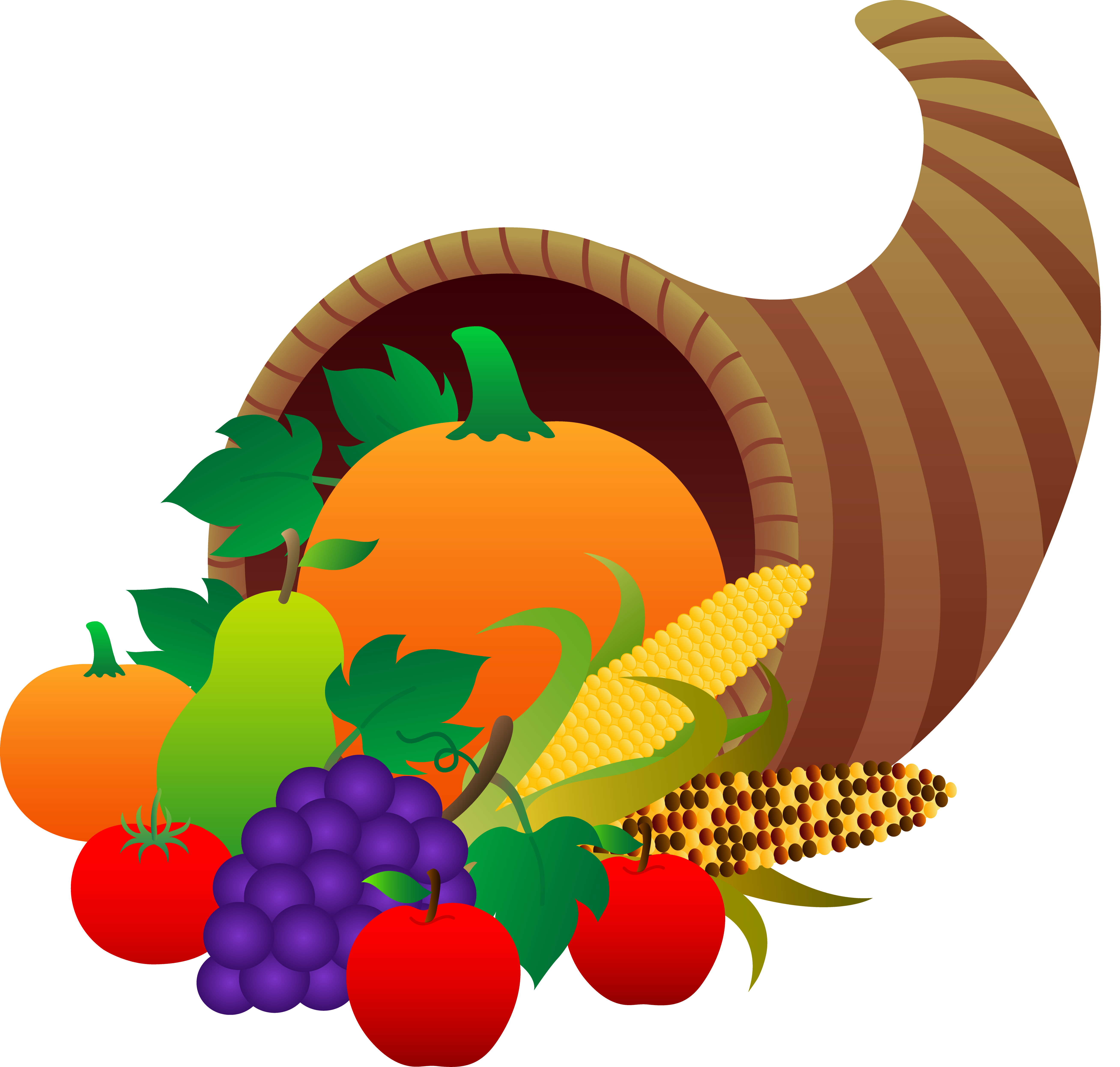 crops clipart thanksgiving