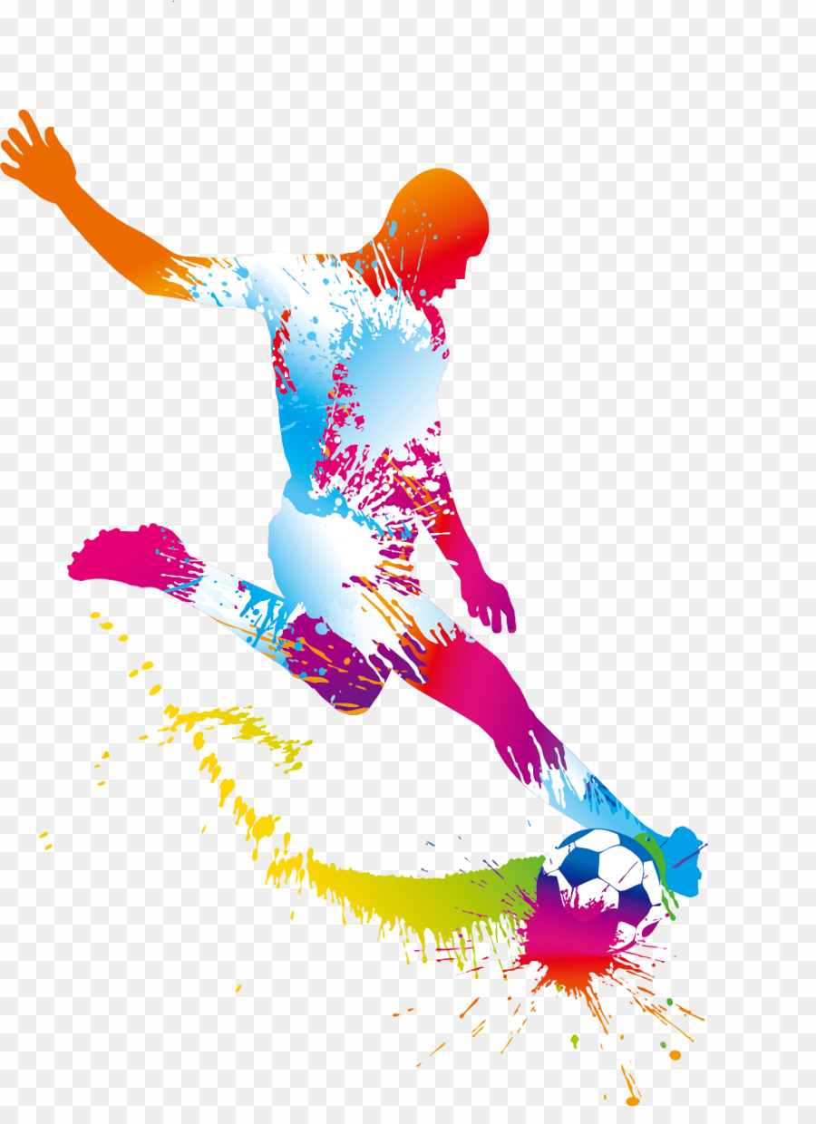 Football clipart abstract. Futbol png player download