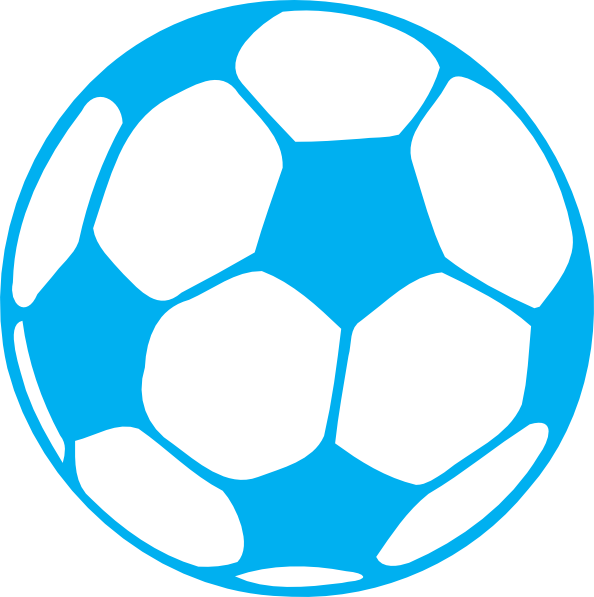 Football clipart blue, Football blue Transparent FREE for
