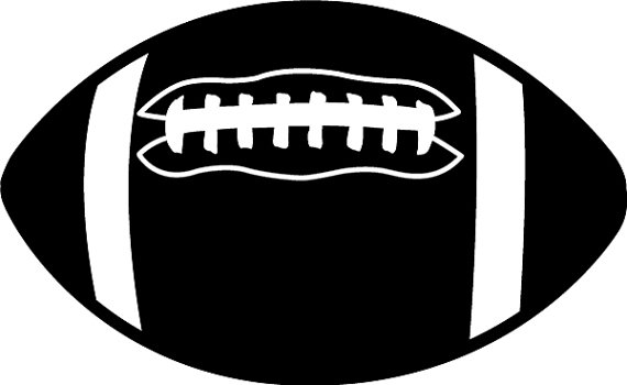 Football black and white old football cliparts free download