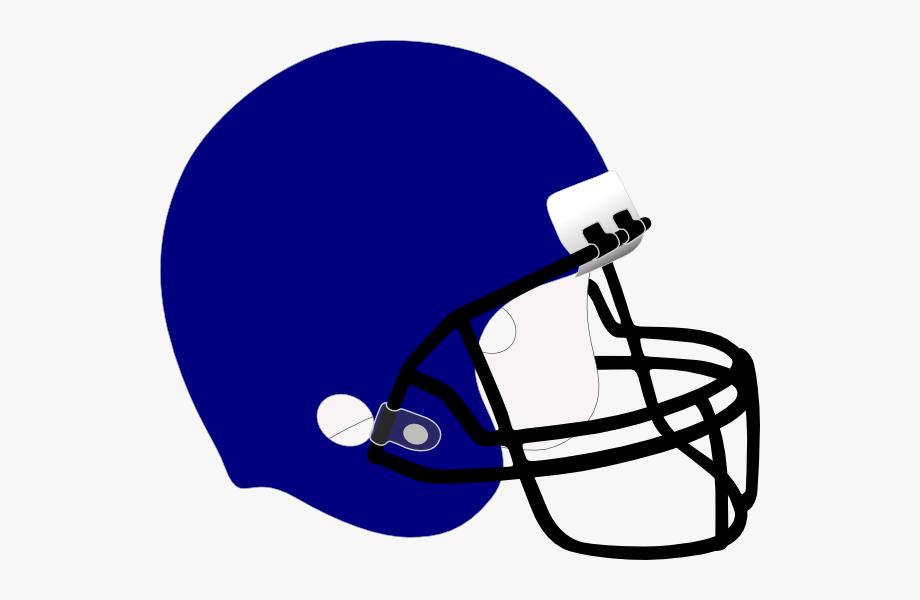 Football Helmet Clipart Blue