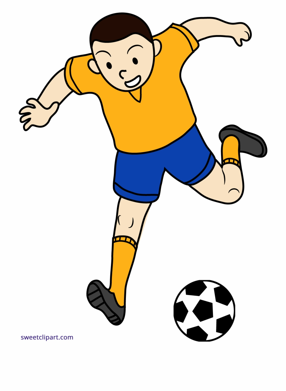 Png Royalty Free Library Boy Playing Soccer Clipart