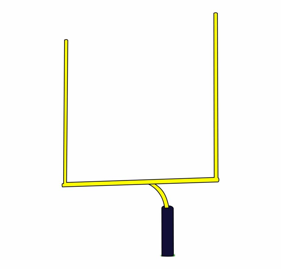 Football goal post.
