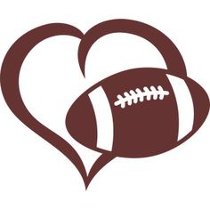 Free Football Heart Cliparts, Download Free Clip Art, Free