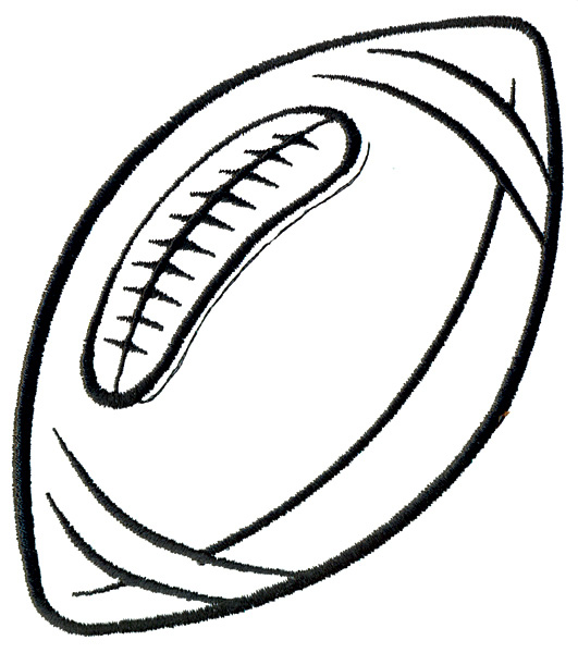 Free Football Outline, Download Free Clip Art, Free Clip Art