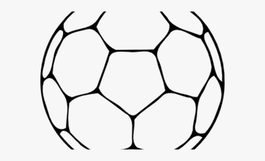Football clipart outline.