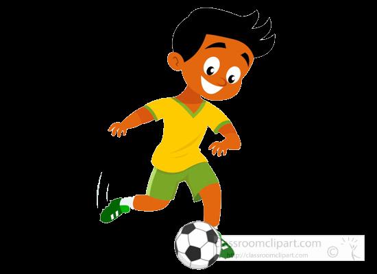 Soccer Clipart Boy