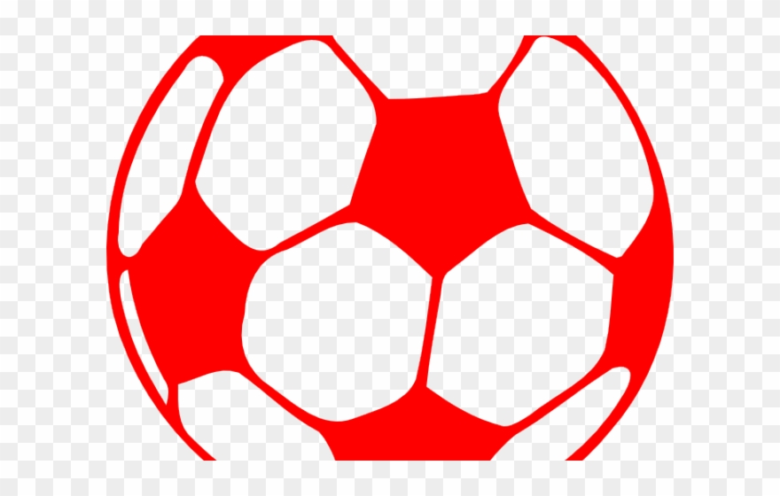 Football Clipart Red