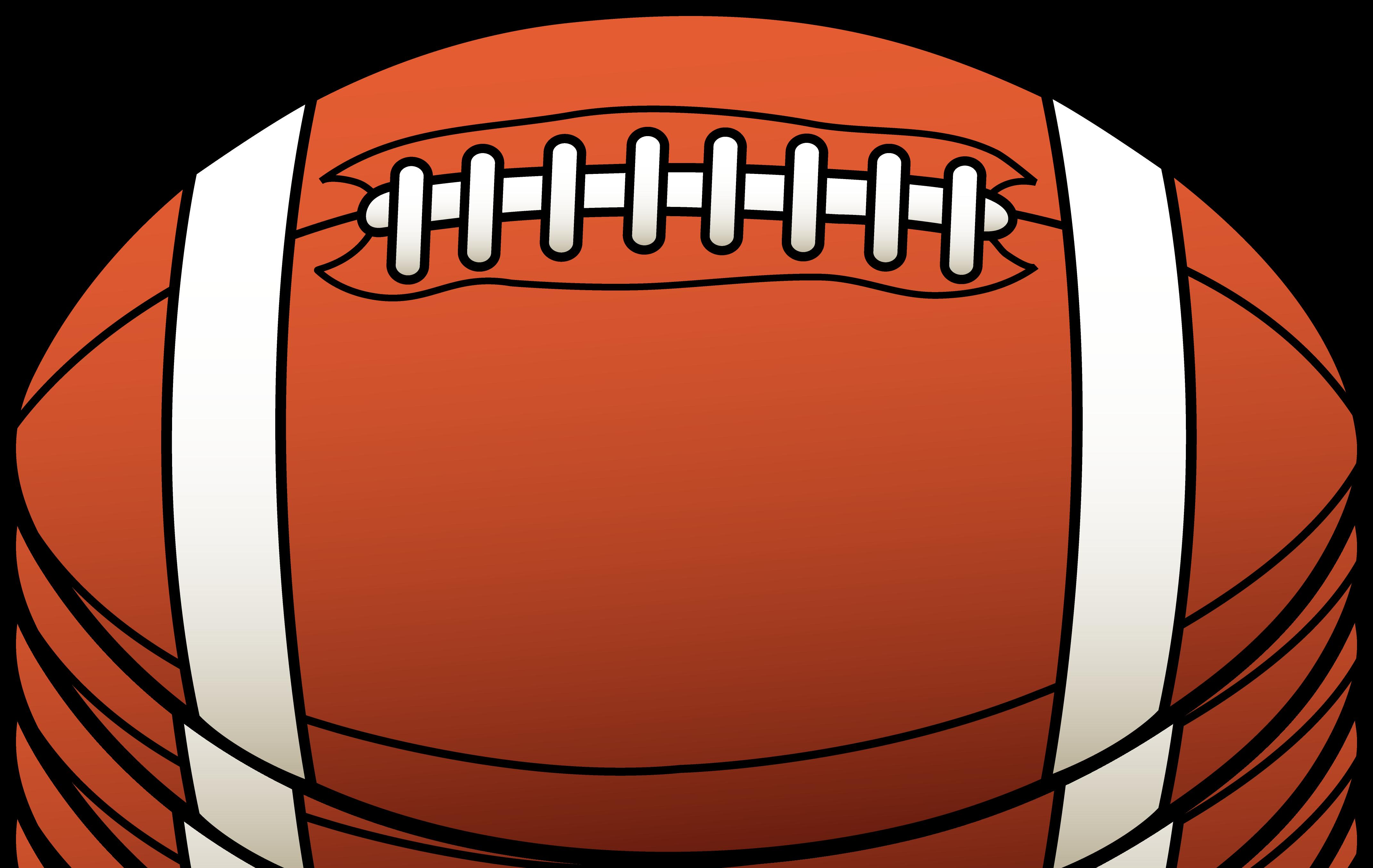 Clipart football free.