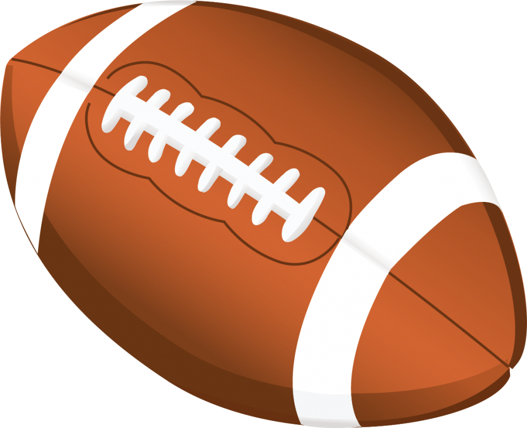 Football Clip Art With Transparent Background