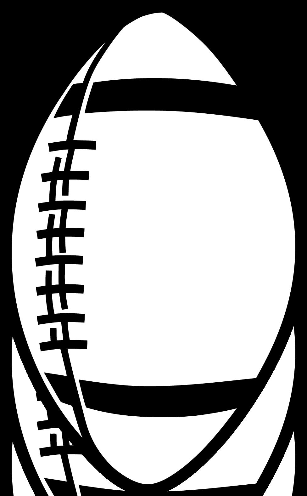 Vertical Football Clipart