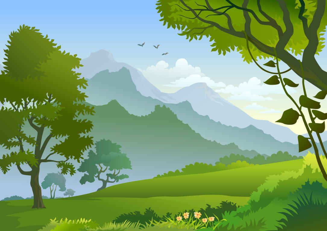 forest background clipart nature