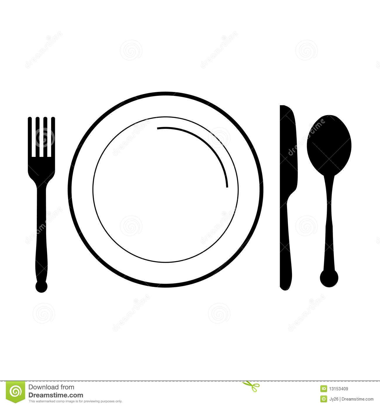fork clipart illustration