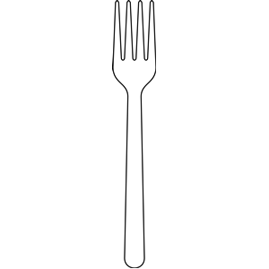 Fork clipart kids. Fork clipart kids. Free black and white