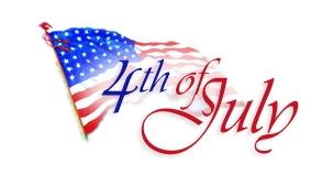 Fourth july fireworks.