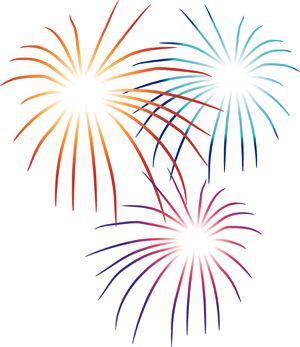 Fireworks clipart fireworks.