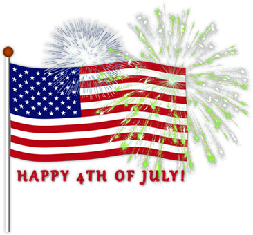Independence day clipart.