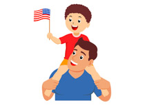 Fourth july clipart.