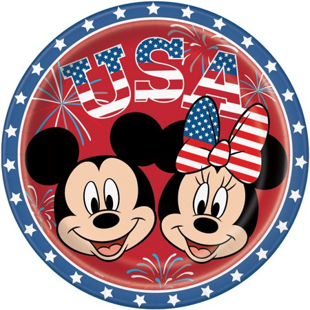 Patriotic minnie mouse.